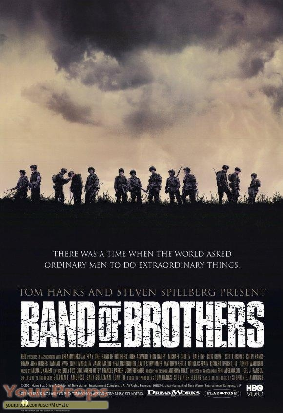 Band of Brothers original movie prop