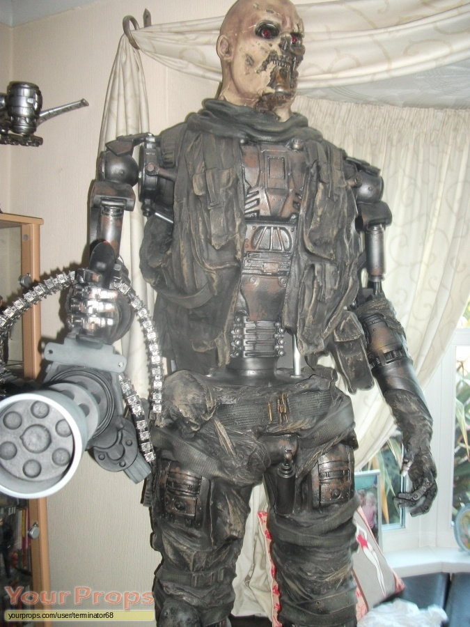Terminator Salvation replica movie prop