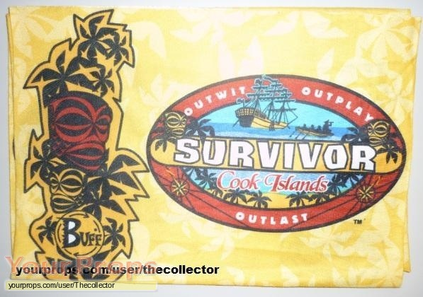 Survivor Cook Islands original movie prop
