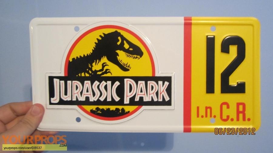 Jurassic Park replica movie prop