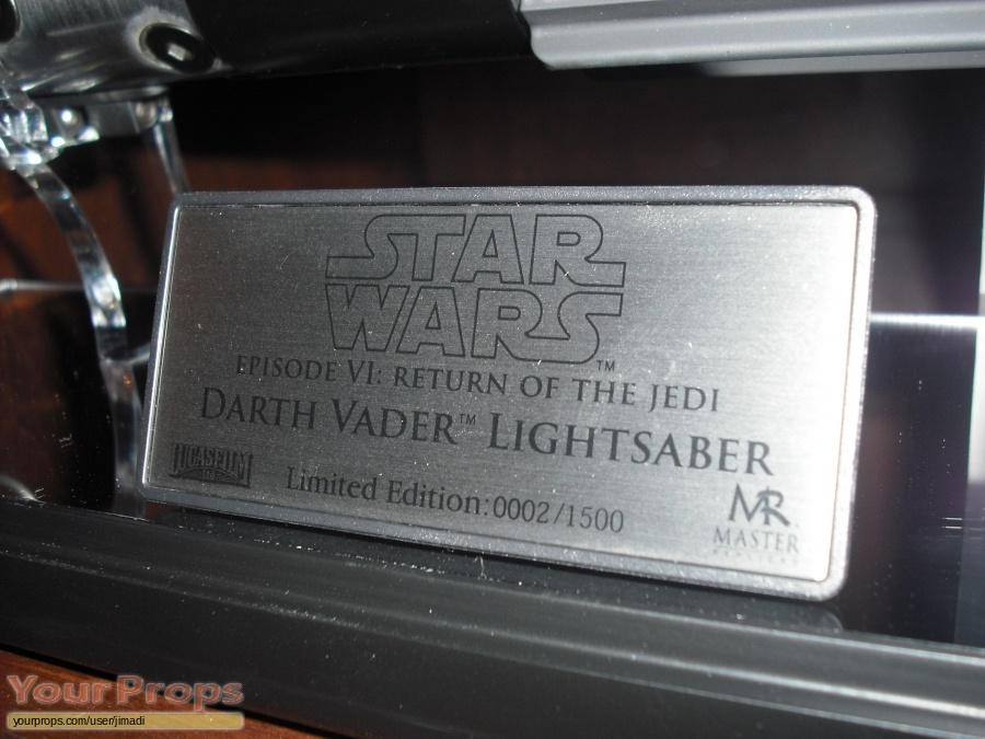 Star Wars  Return Of The Jedi Master Replicas movie prop