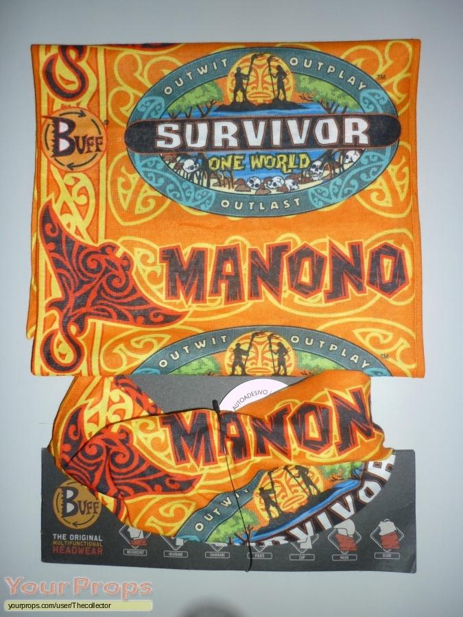 Survivor One World original movie prop