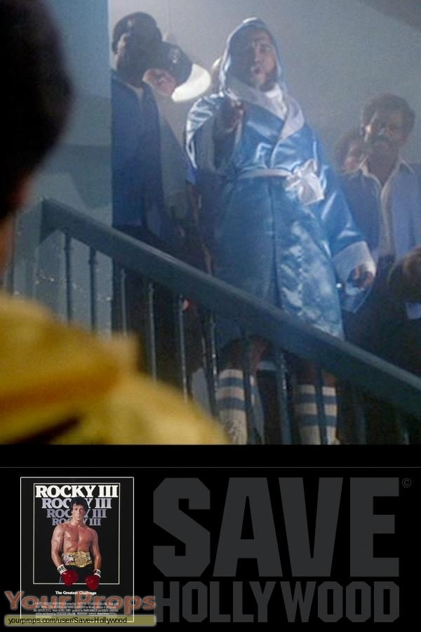 Rocky III original movie costume