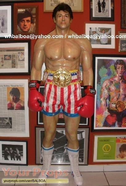 Rocky IV replica movie prop