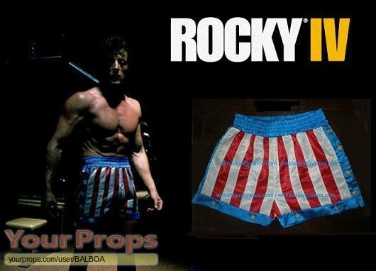 Rocky IV replica movie costume