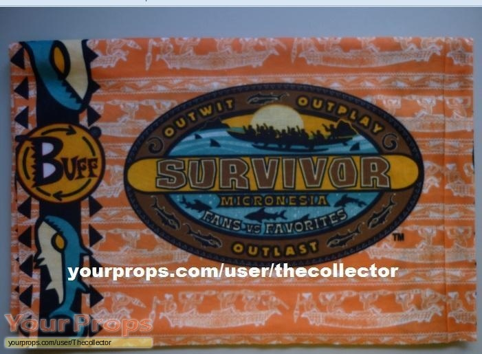 Survivor Micronesia Fans vs Favorites original movie prop