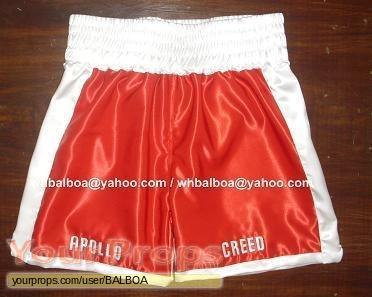 Rocky II replica movie costume