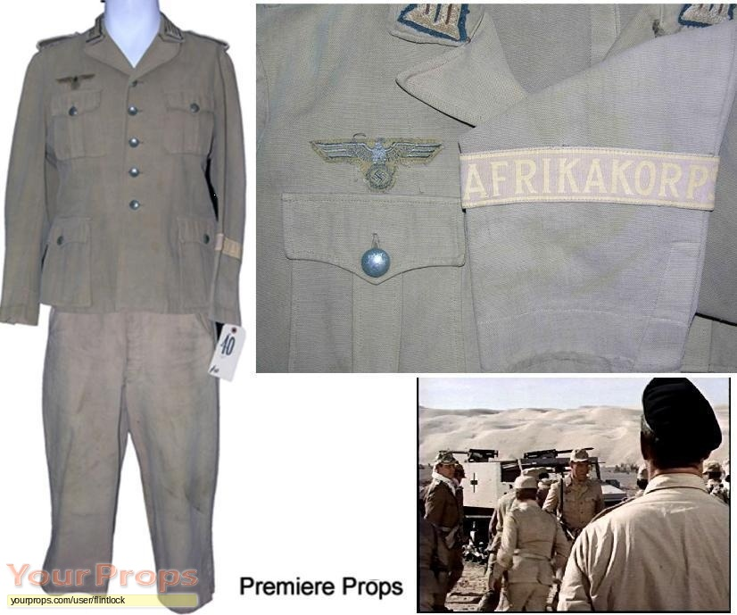 Tobruk original movie costume