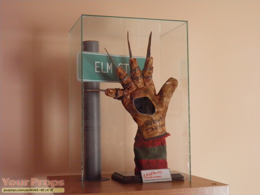 A Nightmare On Elm Street made from scratch movie costume