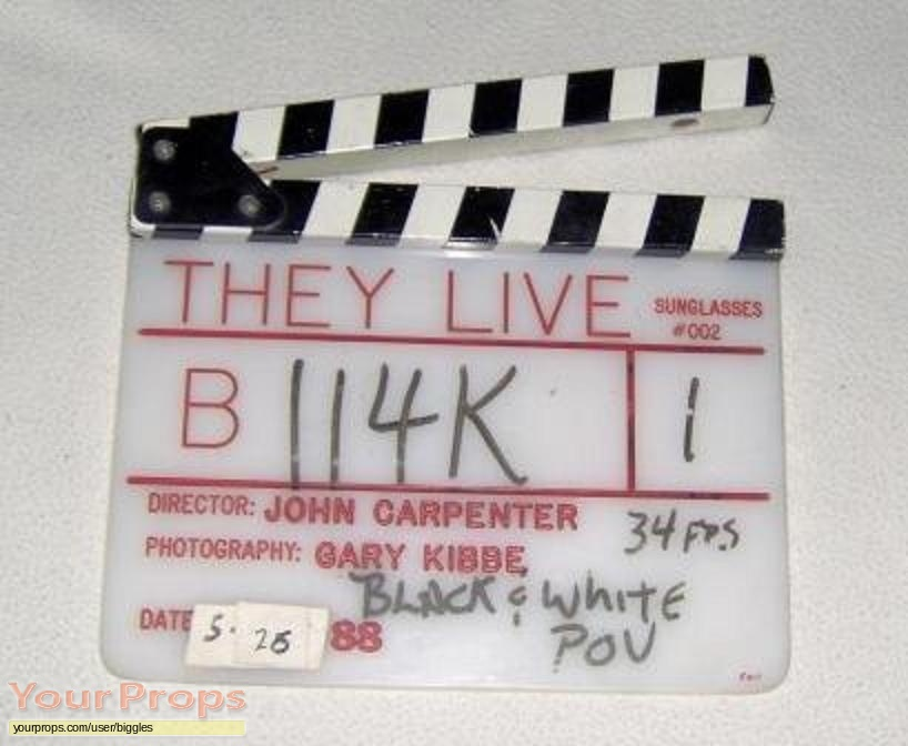 They Live original production material