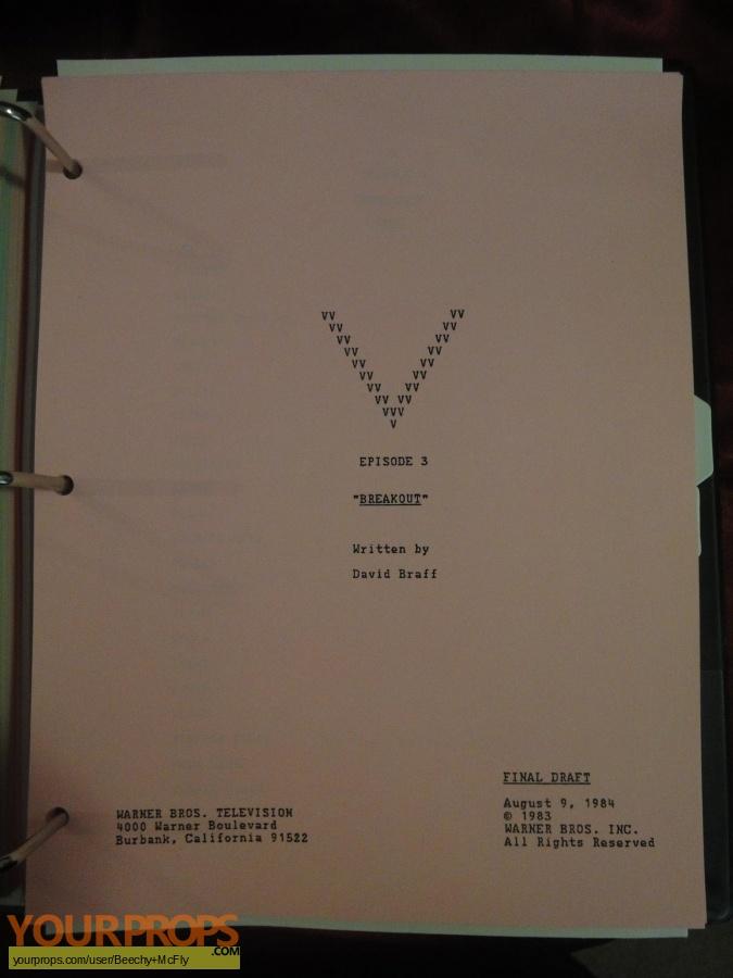 V original production material