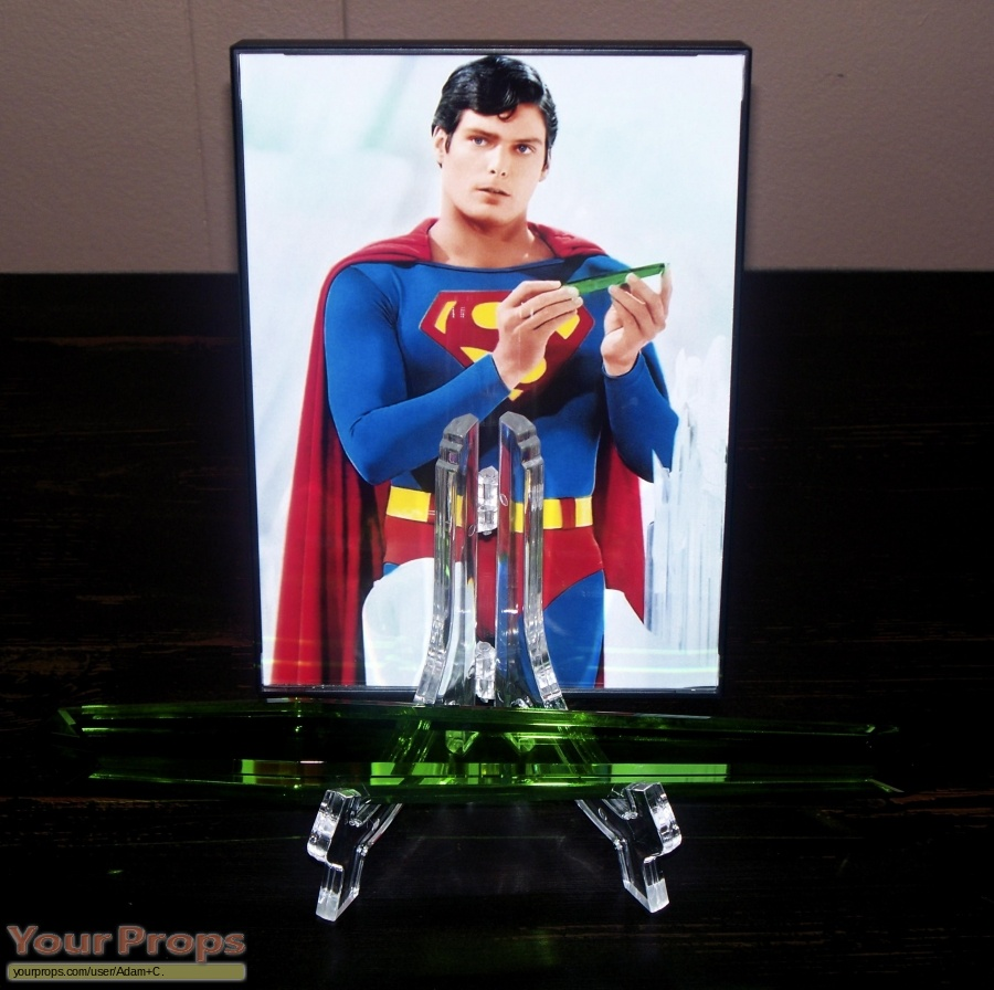 Superman replica movie prop