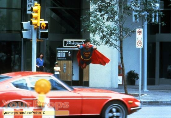 Superman III replica movie prop