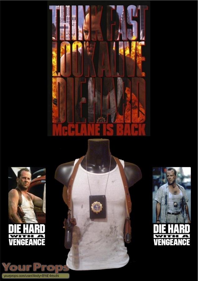 Die Hard  With A Vengeance original movie prop weapon