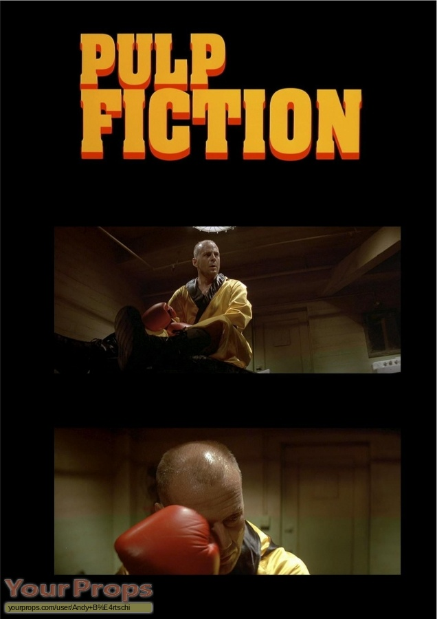 Pulp Fiction original movie costume