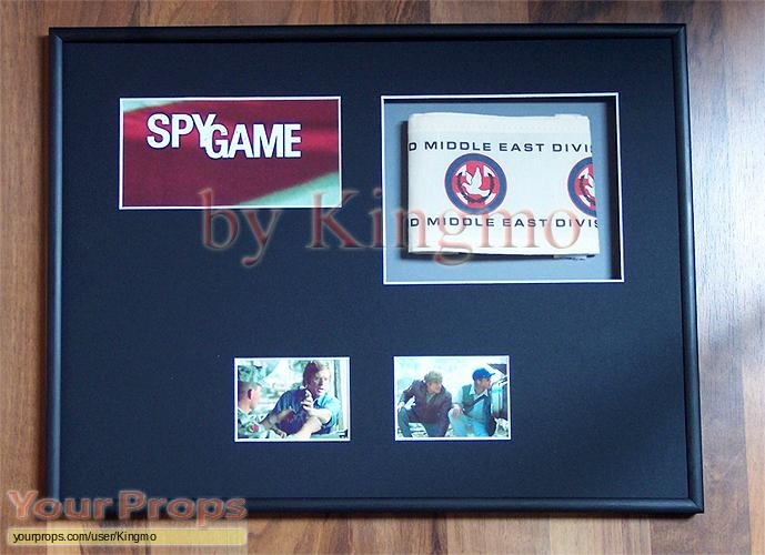 Spy Game original movie prop