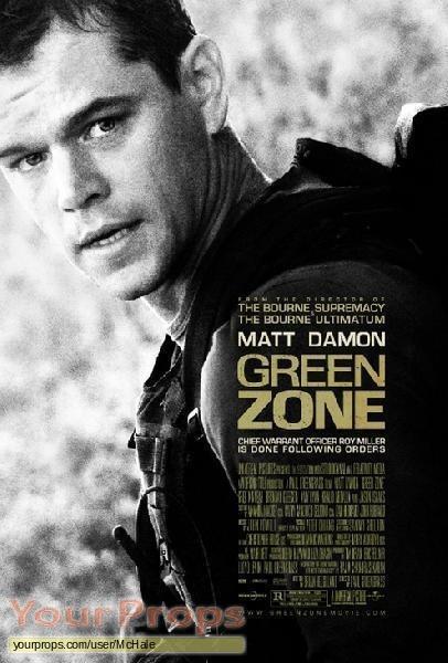 Green Zone original movie prop