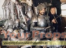 Excalibur scaled scratch-built movie costume