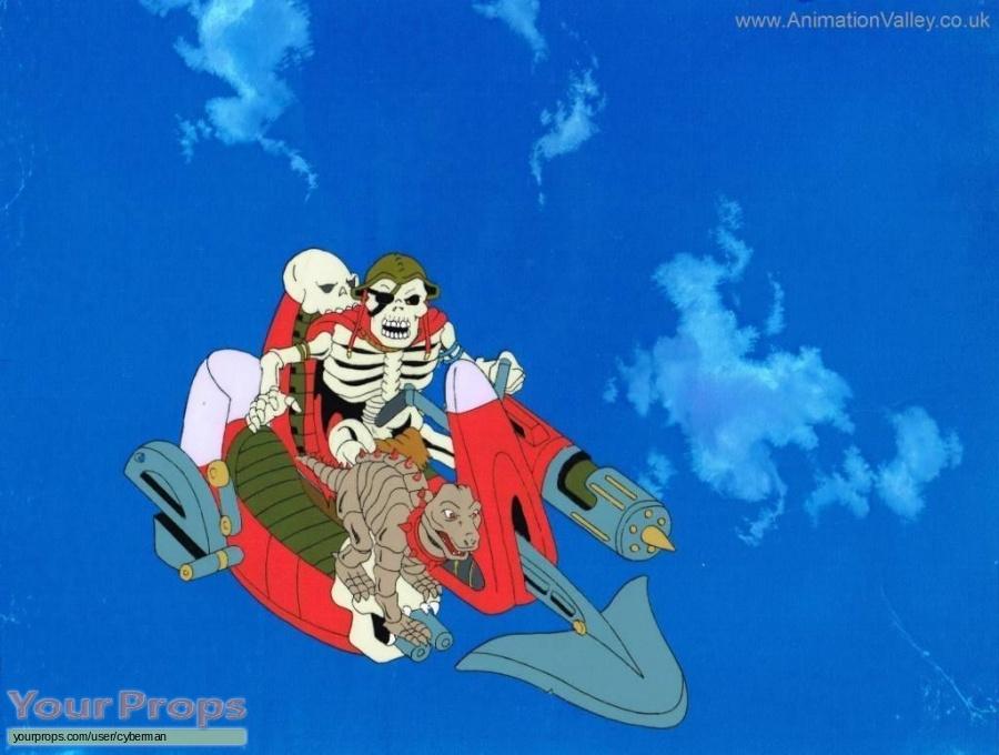 Skeleton Warriors  The Animated Series original production artwork