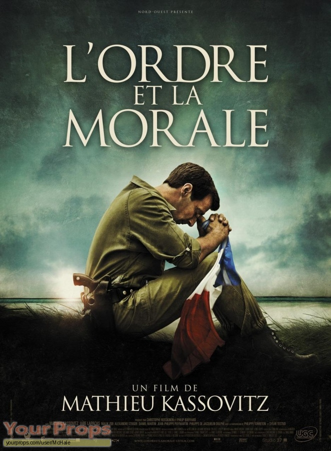 Lordre et la morale original movie prop