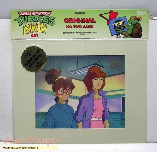 Teenage Mutant Ninja Turtles original production artwork
