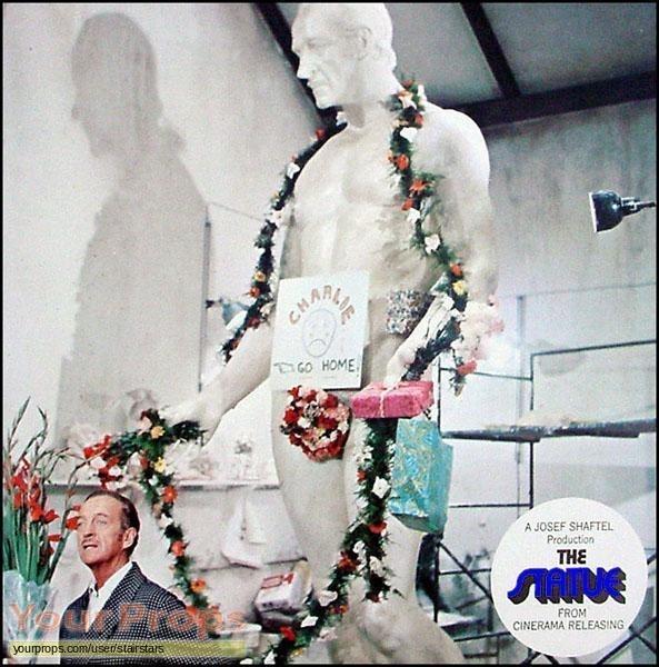 The Statue original production material