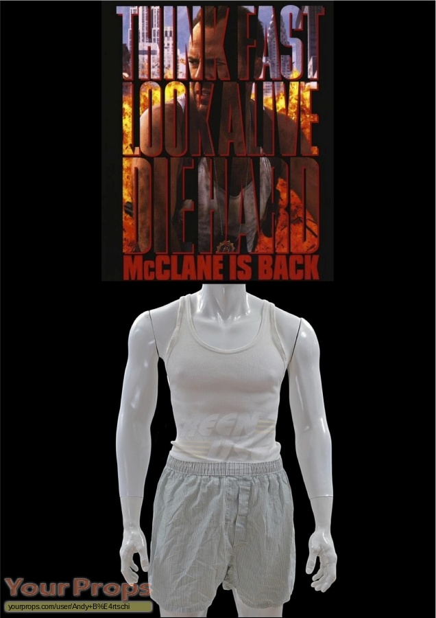 Die Hard  With A Vengeance original movie costume