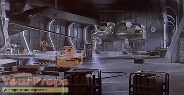 Aliens original movie prop