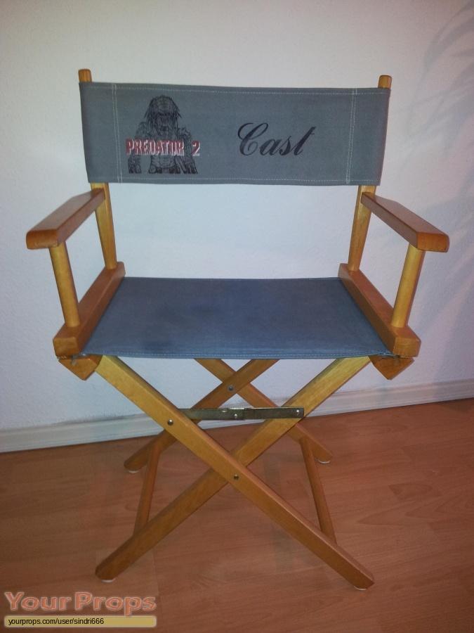 Predator 2 original film-crew items