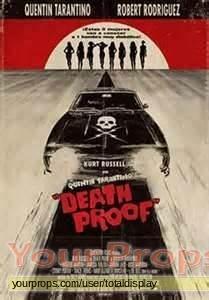 Death Proof original movie prop