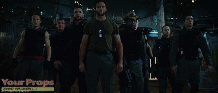 X-Men Origins  Wolverine original production material