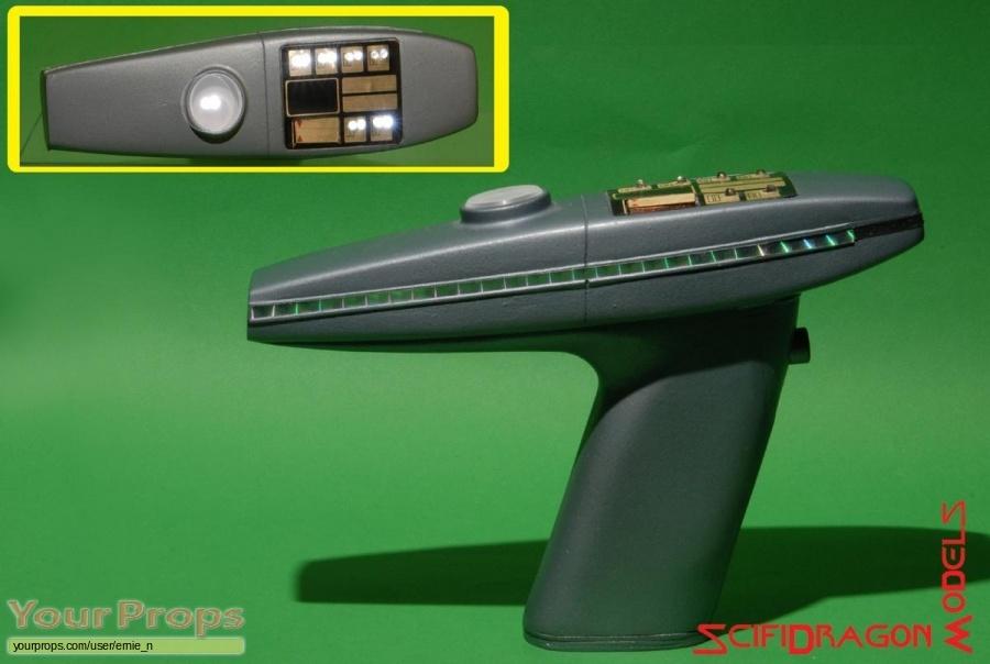 Star Trek II  The Wrath of Khan replica movie prop weapon