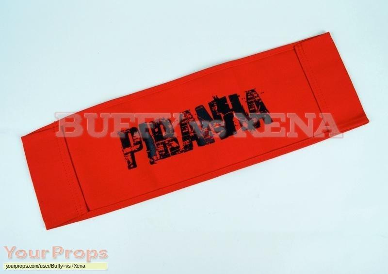 Piranha 3D original production material