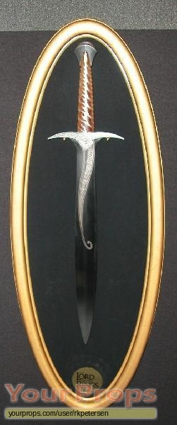 Lord of The Rings  The Fellowship of the Ring The Noble Collection movie prop weapon