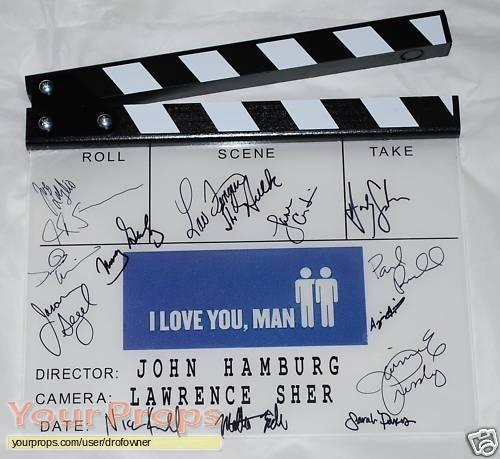 I Love You  Man original production material