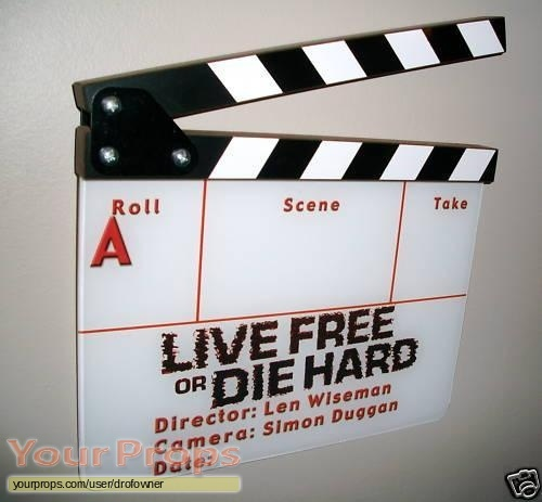 Live Free or Die Hard original production material