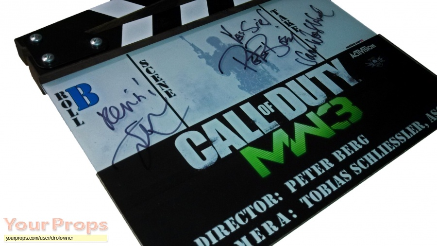 Call of Duty  Modern Warfare 3 (TV Commercial) original production material