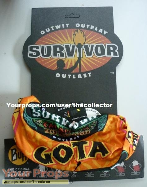 Survivor Caramoan - Fans vs Favorites original movie prop