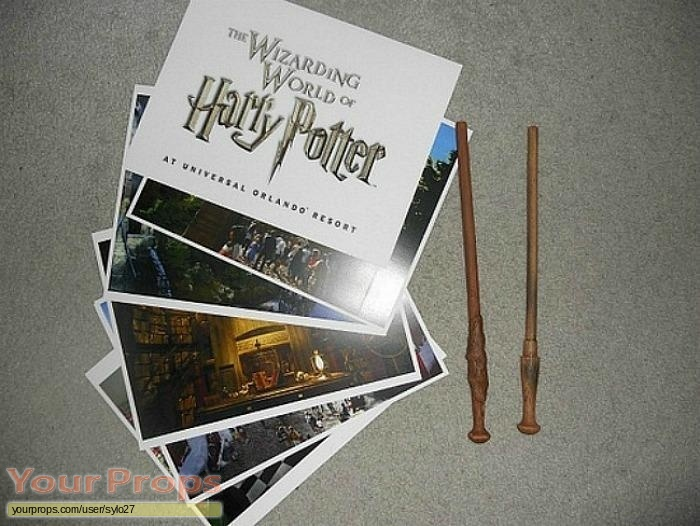 Harry Potter movies replica production material
