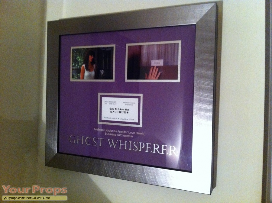 Ghost Whisperer original movie prop