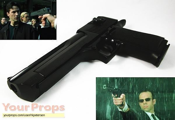The Matrix replica movie prop weapon