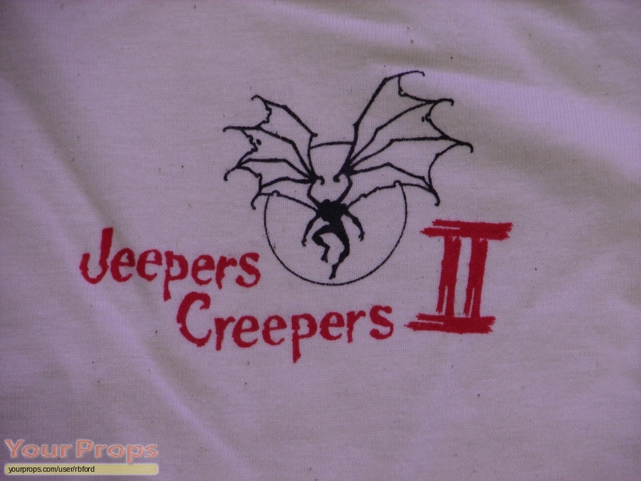 Jeepers Creepers 2 original film-crew items