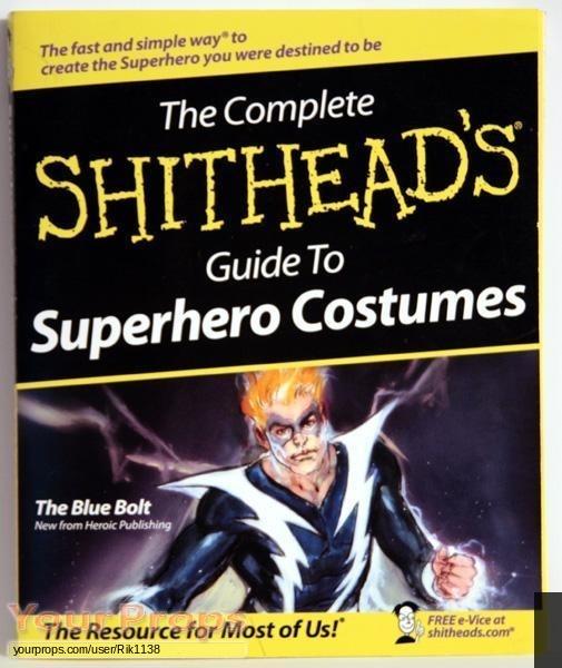 Superhero Movie original movie prop