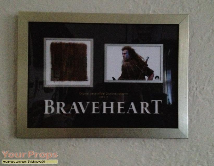 Braveheart swatch   fragment movie costume