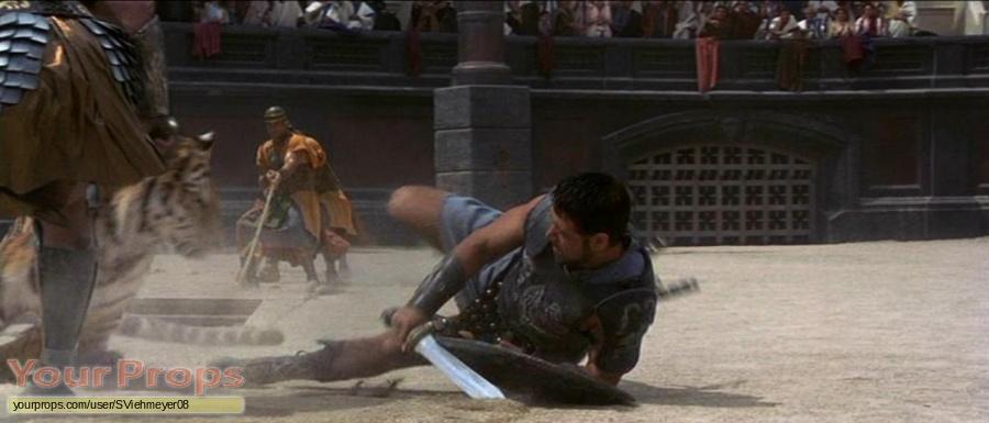 Gladiator original movie prop weapon