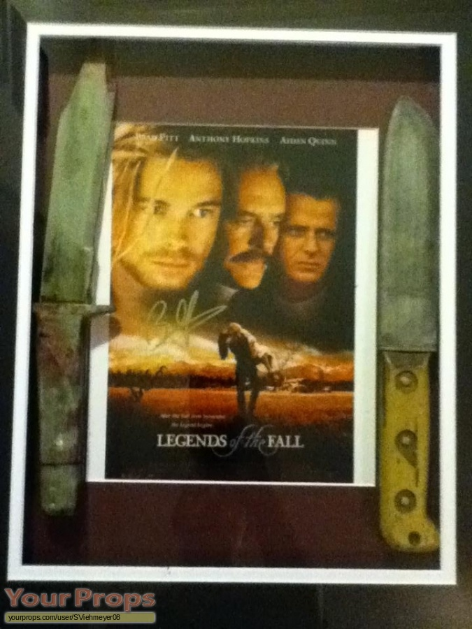 Legends of the Fall original movie prop weapon