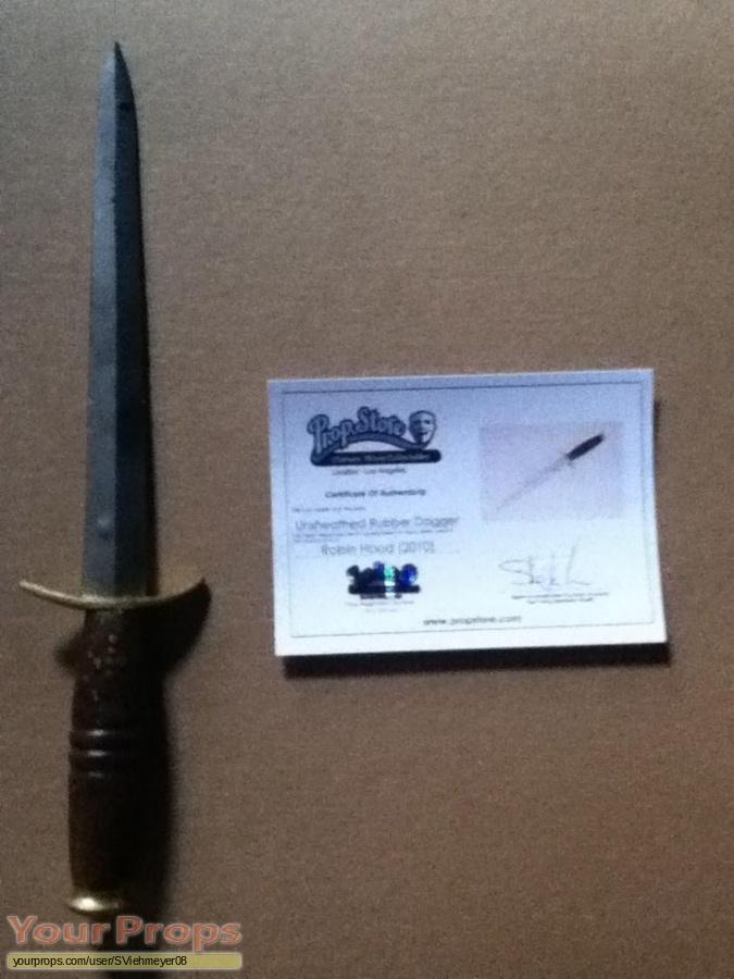 Robin Hood original movie prop weapon