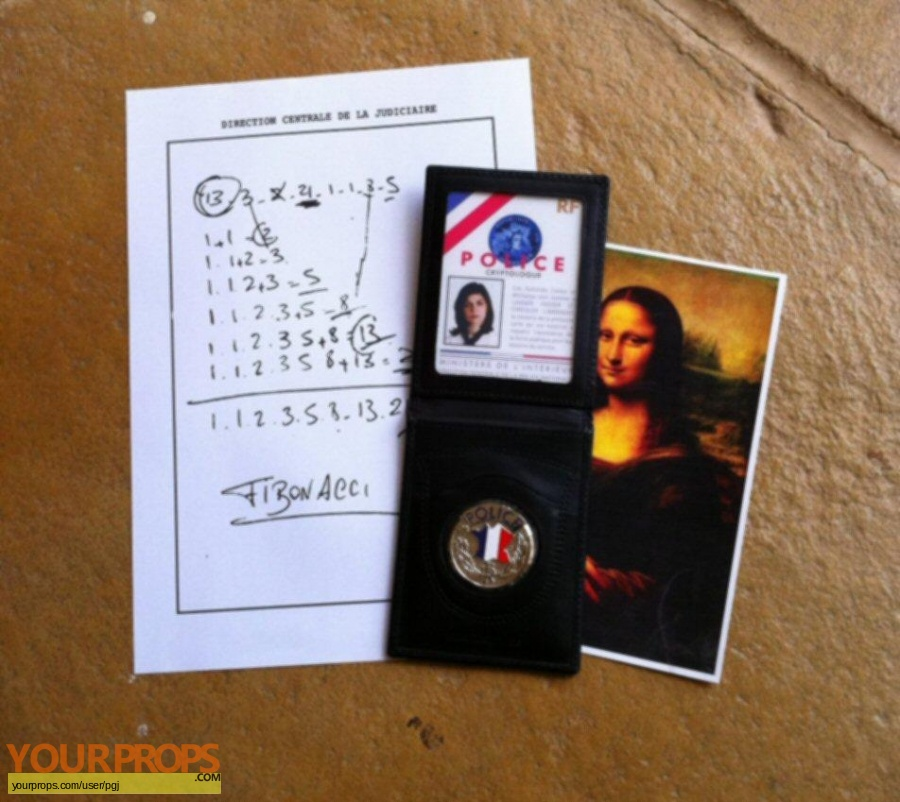 The DaVinci Code replica movie prop
