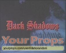 Dark Shadows replica movie prop