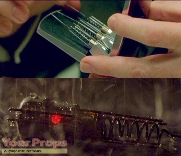 The Matrix made from scratch movie prop